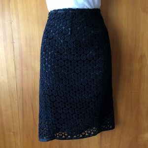 T Tahari Black Skirt Size 6